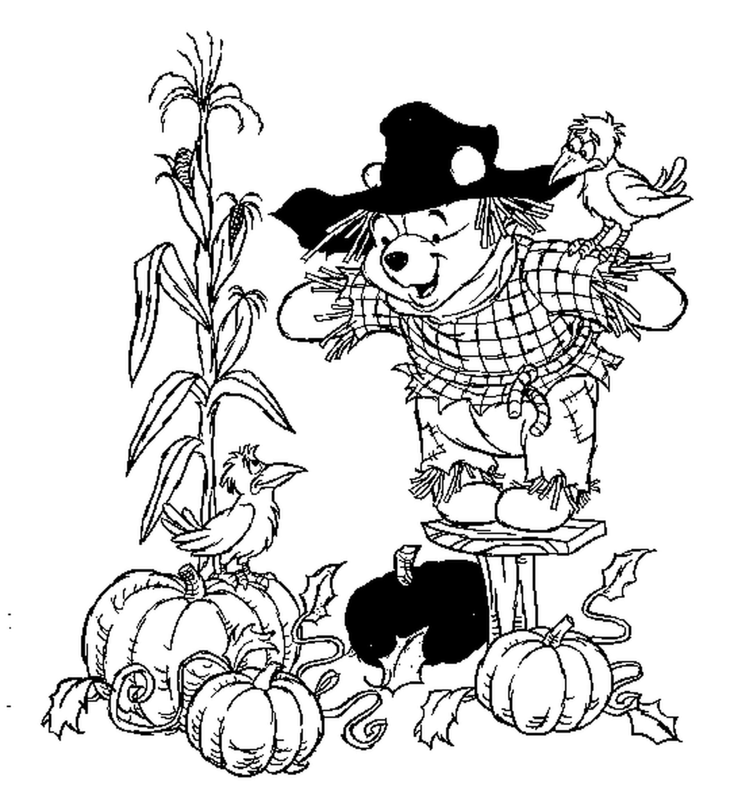 Free coloring pages for halloween and fall - Coloring Pages Precious Moments Kids Free Fall Activity List Hanna