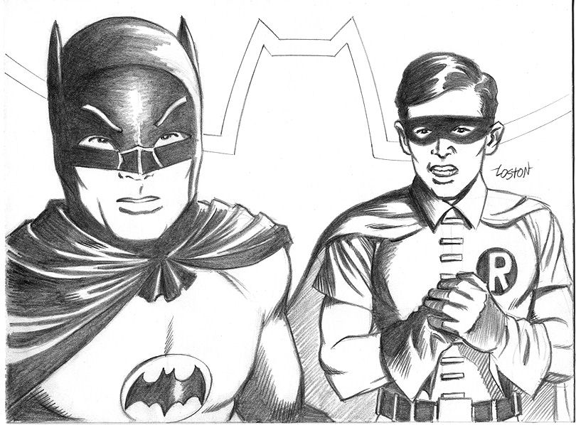 Batman & Robin Coloring Pages - Coloring Home