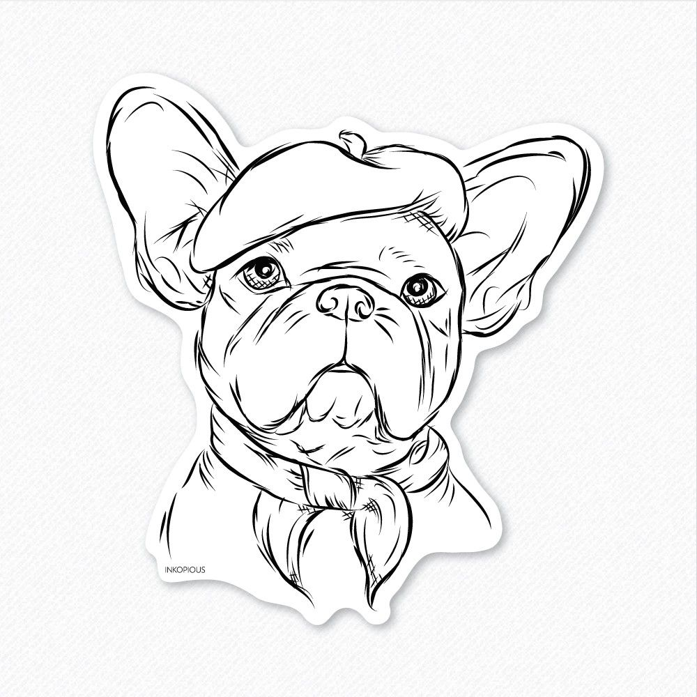 13 pics of french bulldog coloring pages free coloring pages