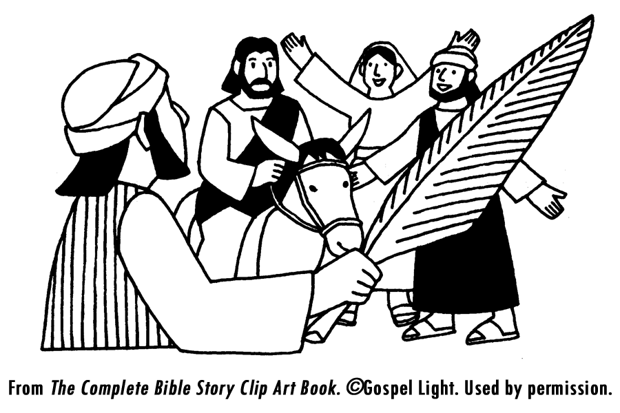 coloring pages triumphal entry - photo#17