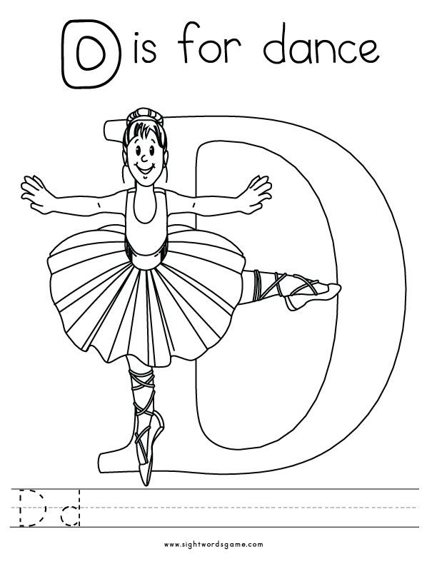 dancing dinosaur coloring pages | D Is For Dinosaur Coloring Pages - Coloring Home