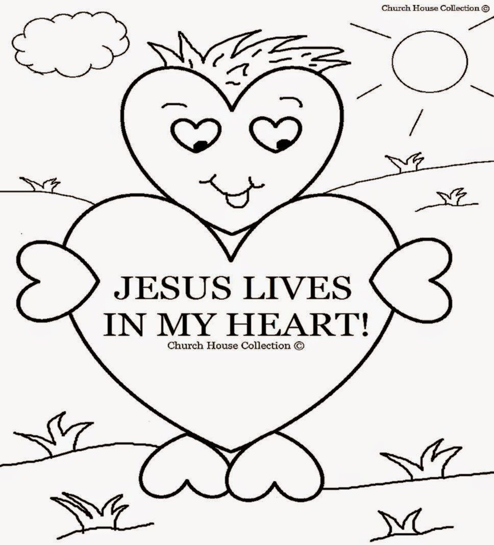 Free coloring pages for sunday school