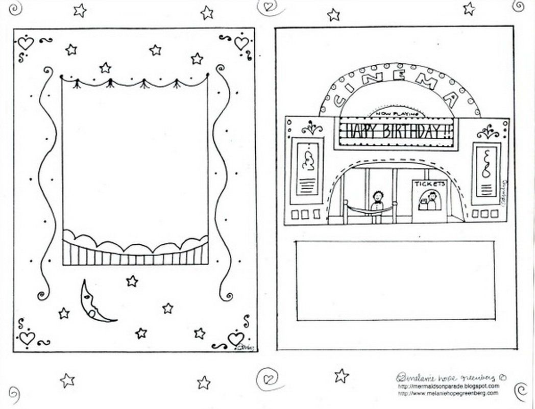 Coloring Pages Coloring Page Birthday Card coloring page birthday card eassume com happy pages cat cupcakes picture and