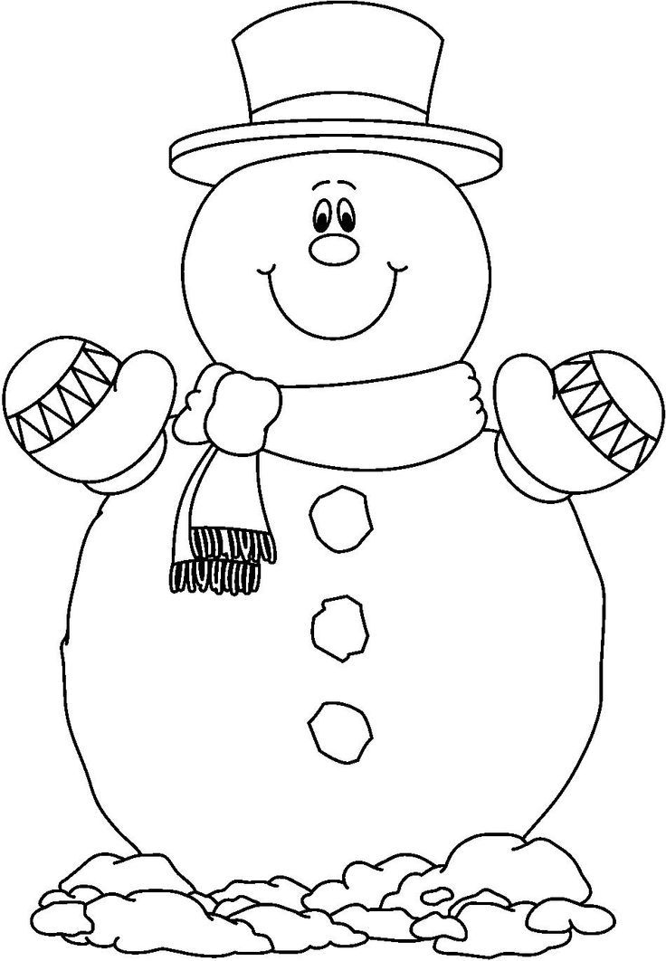 frosty coloring page coloring home