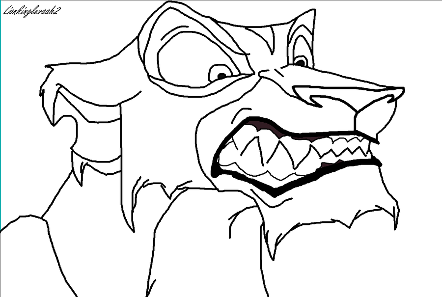 Lion King Zira Coloring Pages