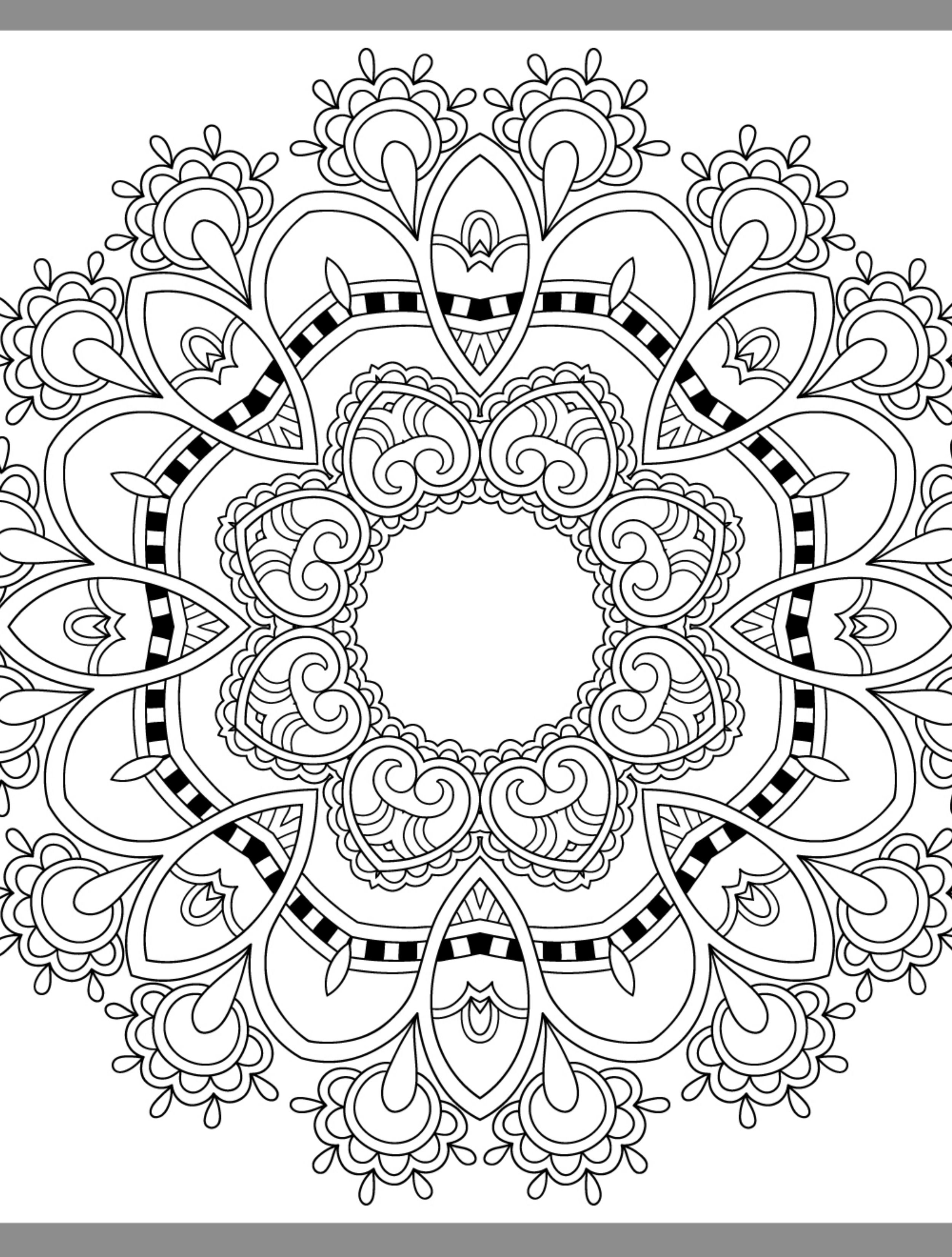 24 More Free Printable Adult Coloring Pages - Page 13 of 25 ...