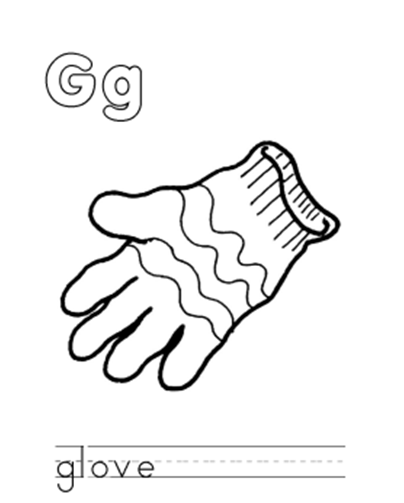 G coloring pages preschool coloring home for G coloring page