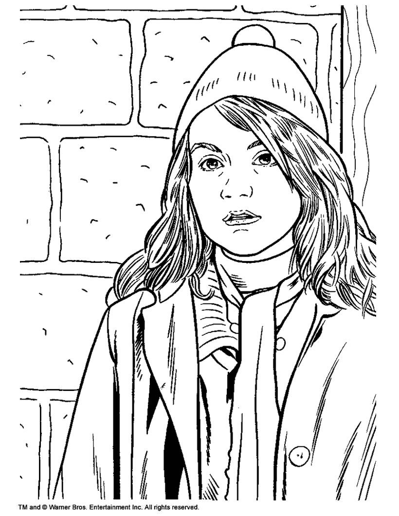 harry potter movie coloring pages - photo#2