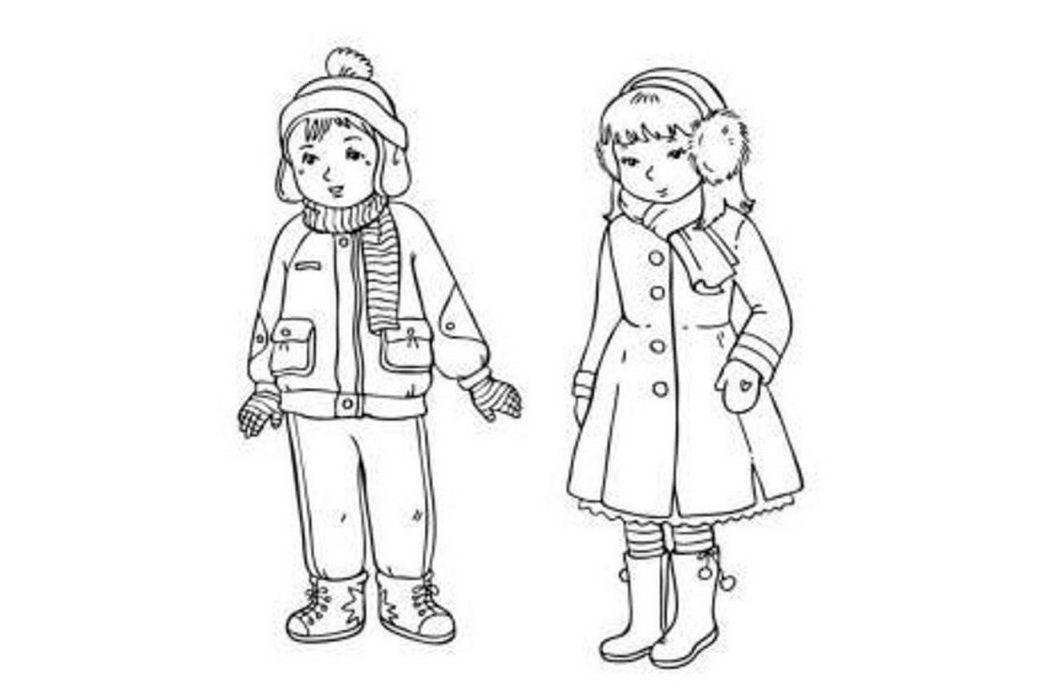 free snow girl coloring pages - photo#46
