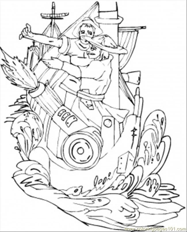 Viking Free Coloring Pages Coloring