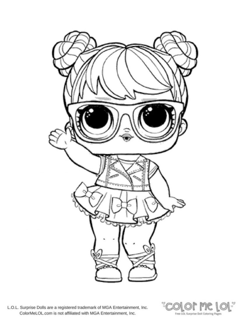 Dawn Lol - Free Colouring Pages | 1095x846
