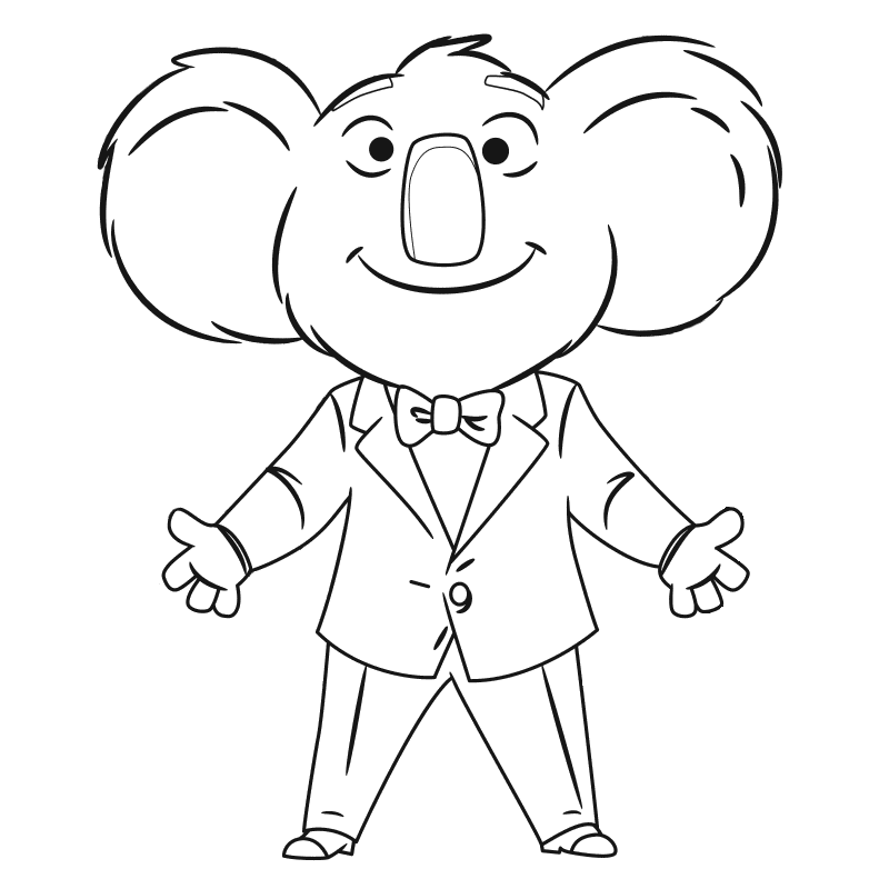 children singing coloring pages - photo#12