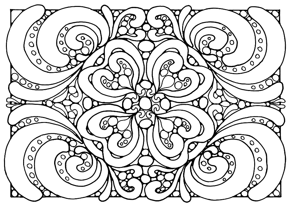 Zen Coloring Pages - Coloring Home