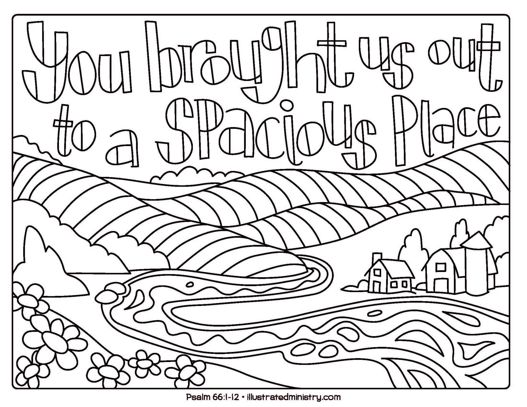 Bible Story Coloring Pages: Fall 2019 - Illustrated Ministry
