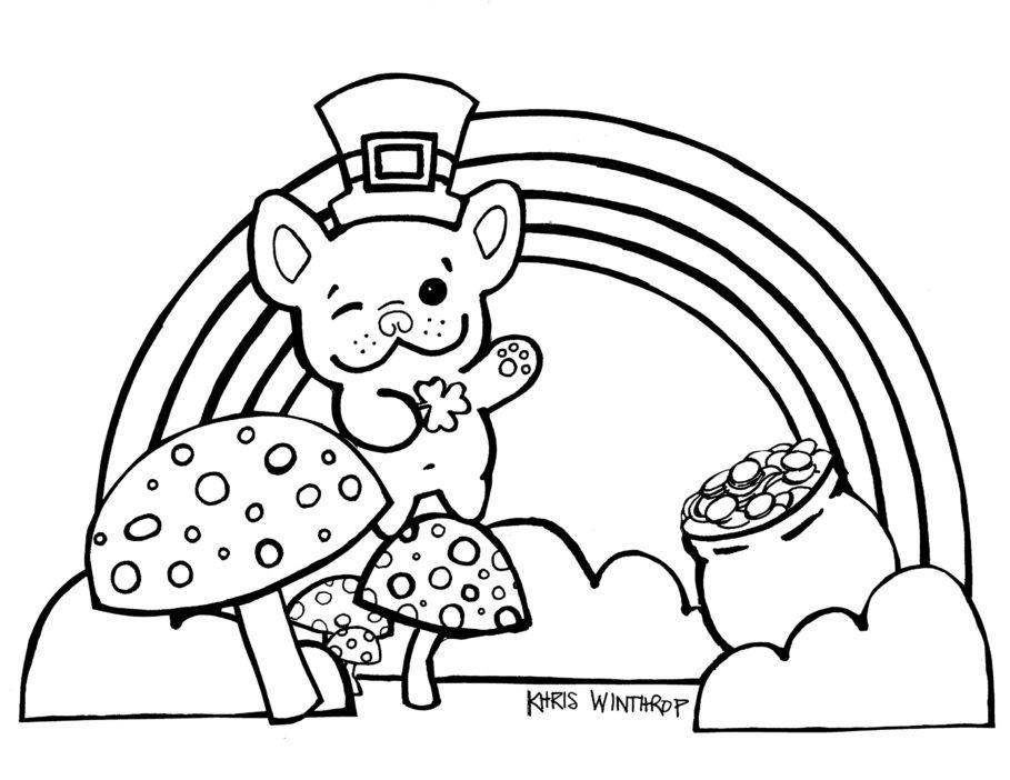 printable and coloring pages bulldog - photo#30