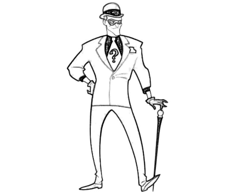 The riddler coloring coloring home Jim Carrey The Riddler Coloring Pages Two-Face Coloring Pages Joker From Batman Coloring Pages