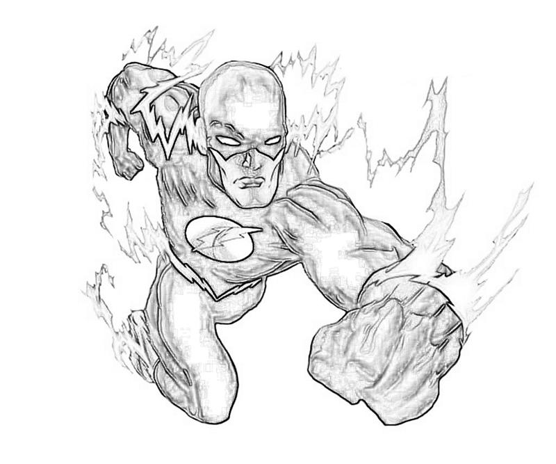 Coloring Pages For Adults Superheroes : The flash superhero coloring pages home