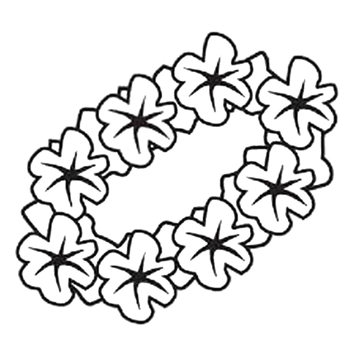 Hawaiian Themed Coloring Pages Coloring Home Luau Coloring Pages