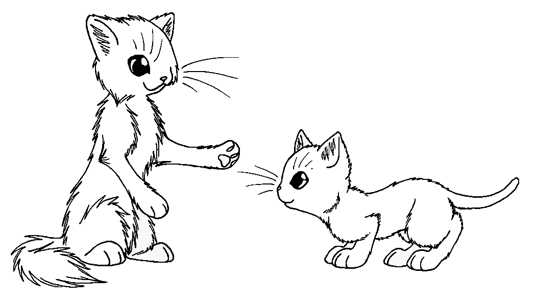 Warrior Cats Kits Coloring Pages - High Quality Coloring Pages