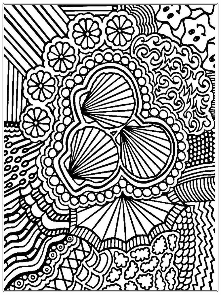 Free printable coloring pages for grown ups - Coloring Pages Detailed Coloring Pages For Adults Printable Kids
