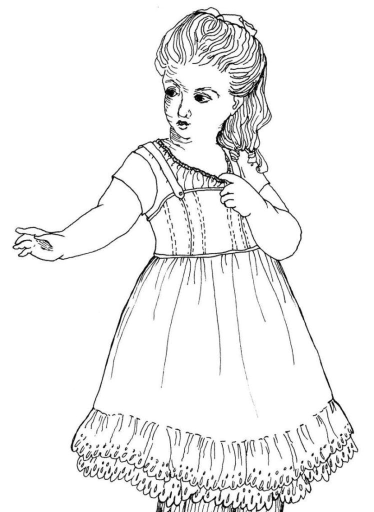 Coloring Pages: American Girl Coloring Pages American Girl Doll ...