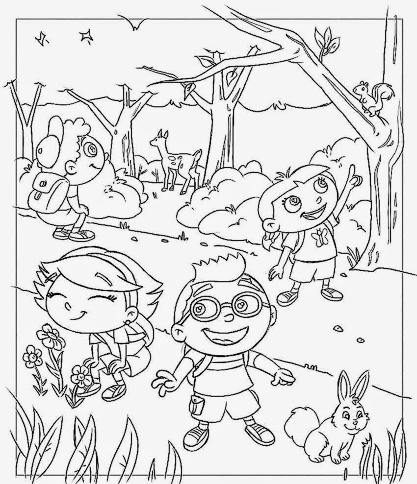 little einstein free coloring pages - photo#21