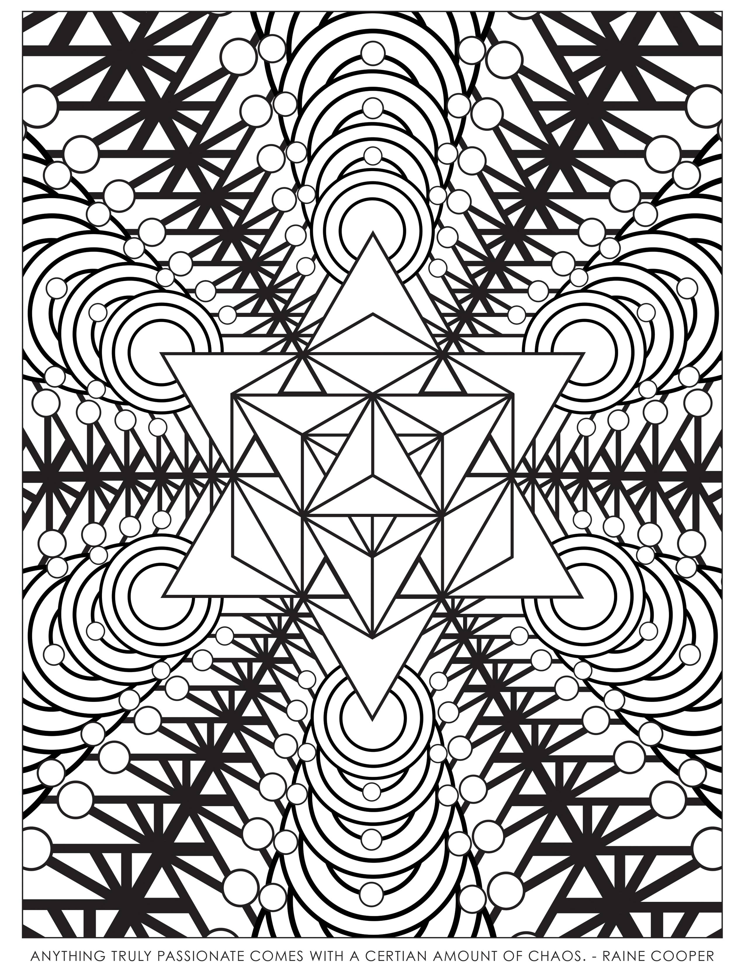SACRED GEOMETRY COLORING BOOK - Sacred Geometry Shop - Coloring Home