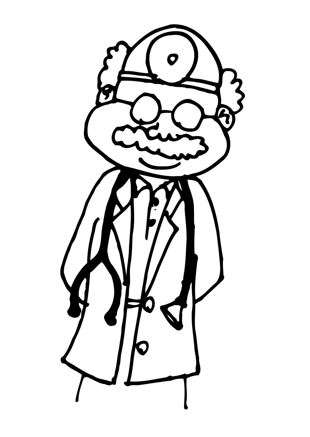 13 Pics of Doctors Visit Coloring Pages - Preschool Doctor ...