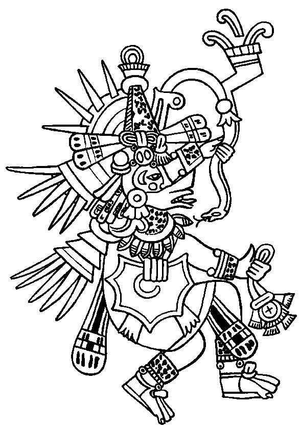 Aztecs Coloring Pages Coloring