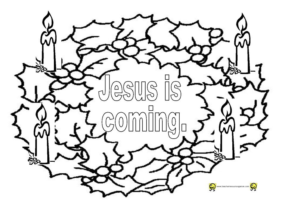 advent coloring pages for adults - photo#8