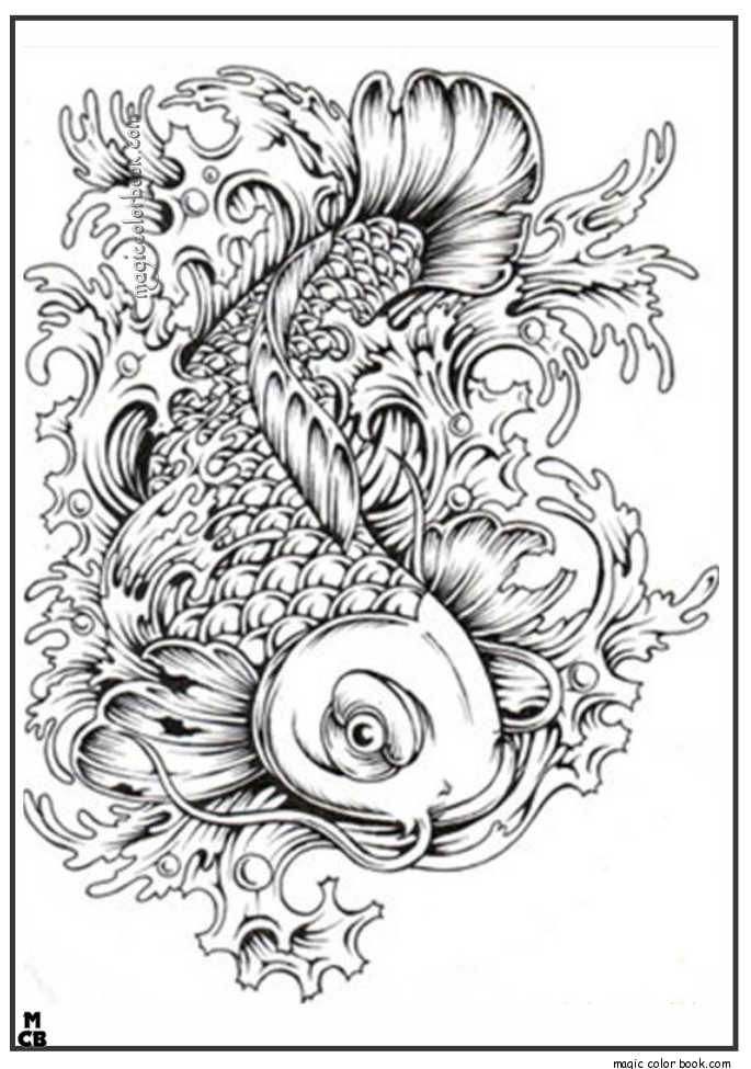 Patterns coloring pages Archives - Magic Color Book