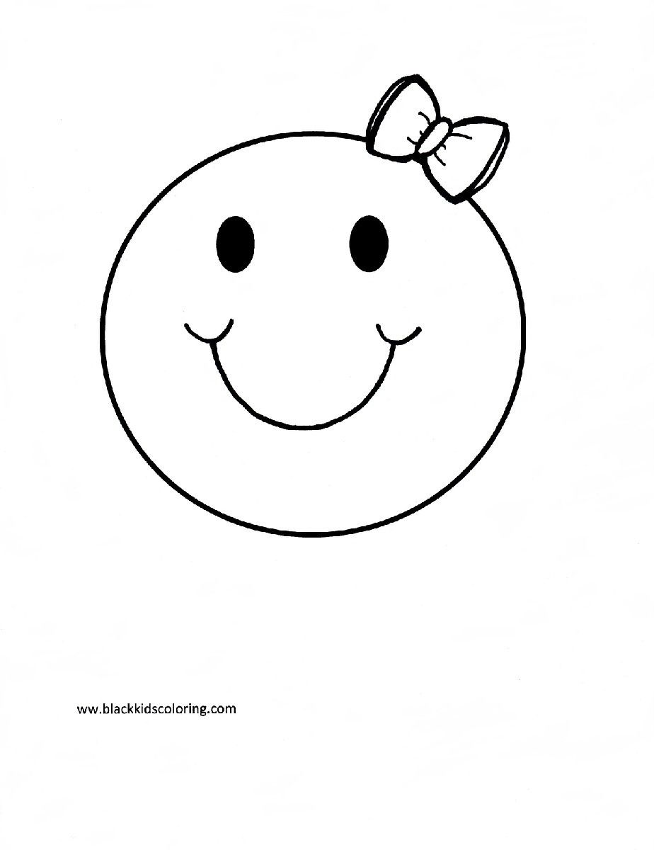 Smiley Face Flower Coloring Pages For Adults Smiley Best