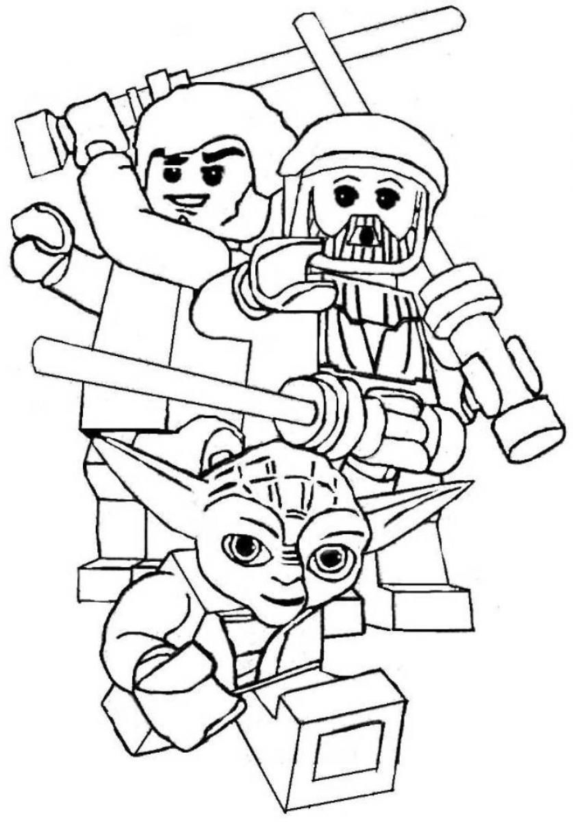 lego star wars coloring sheets - coloring home
