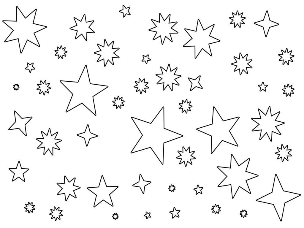 kids stars coloring pages - photo #30