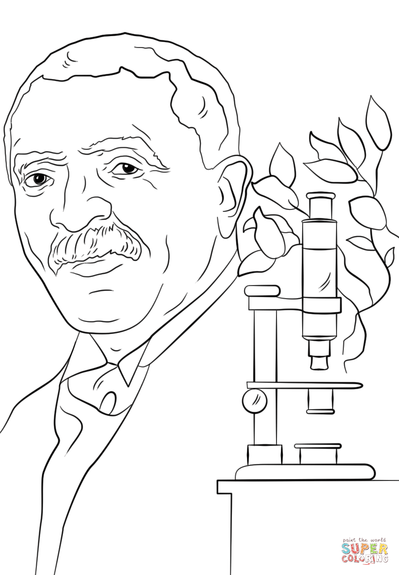 George Washington Carver Coloring Page Az Coloring Pages George Washington Carver Coloring Page