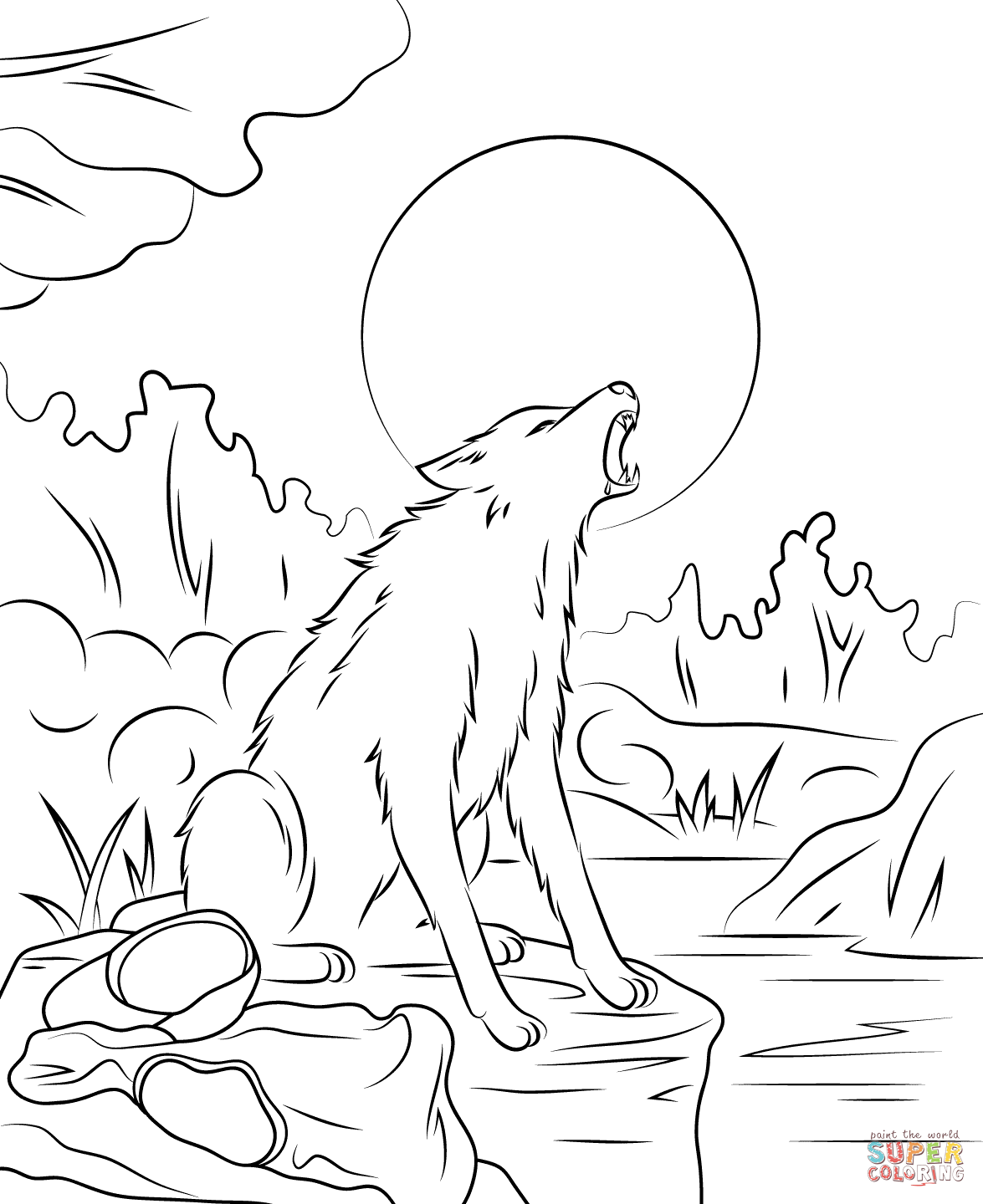 Coloring Pages: Goosebumps Coloring Pages