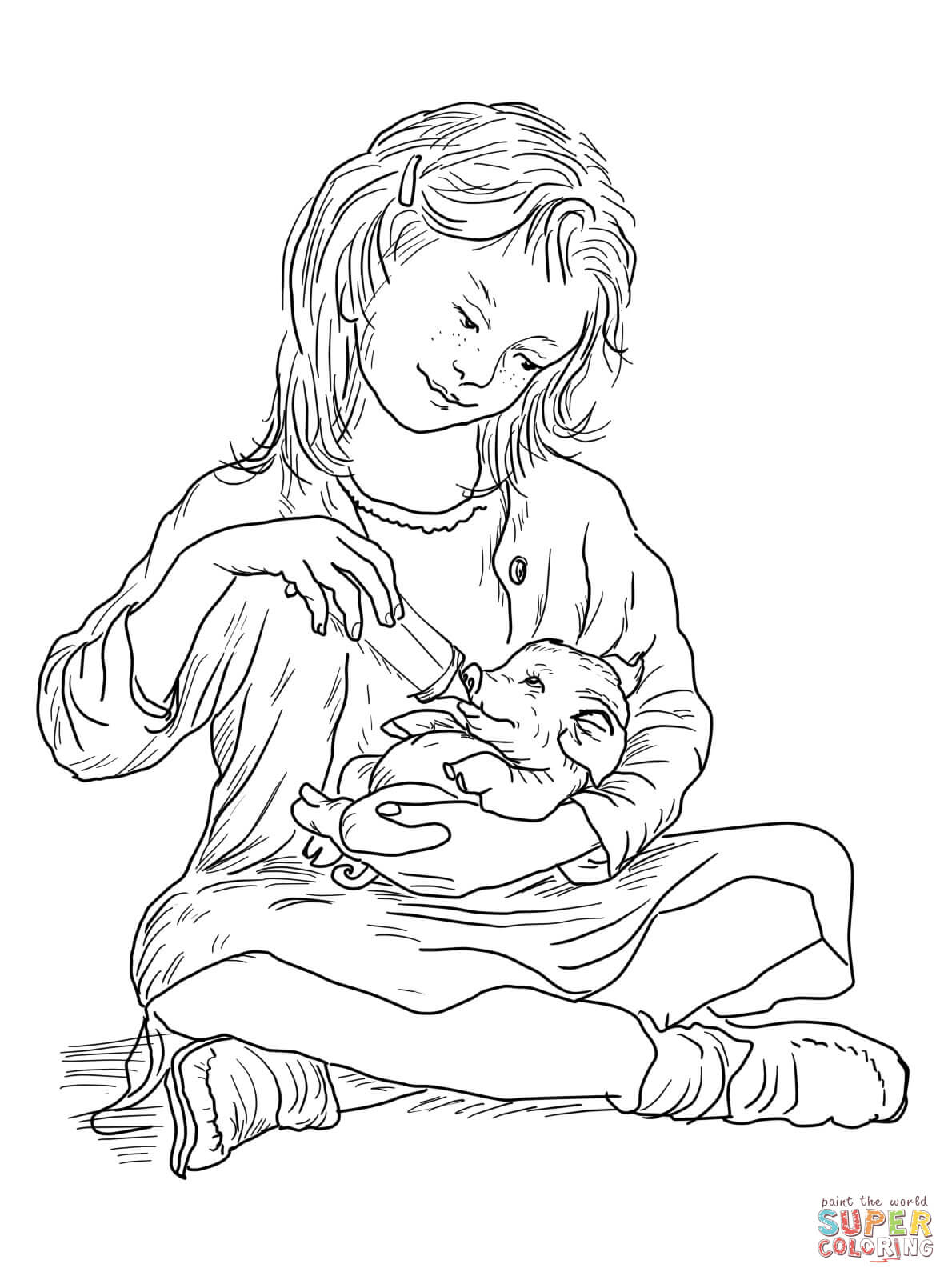 Charlotte's Web Coloring Page | Free Printable Coloring ...
