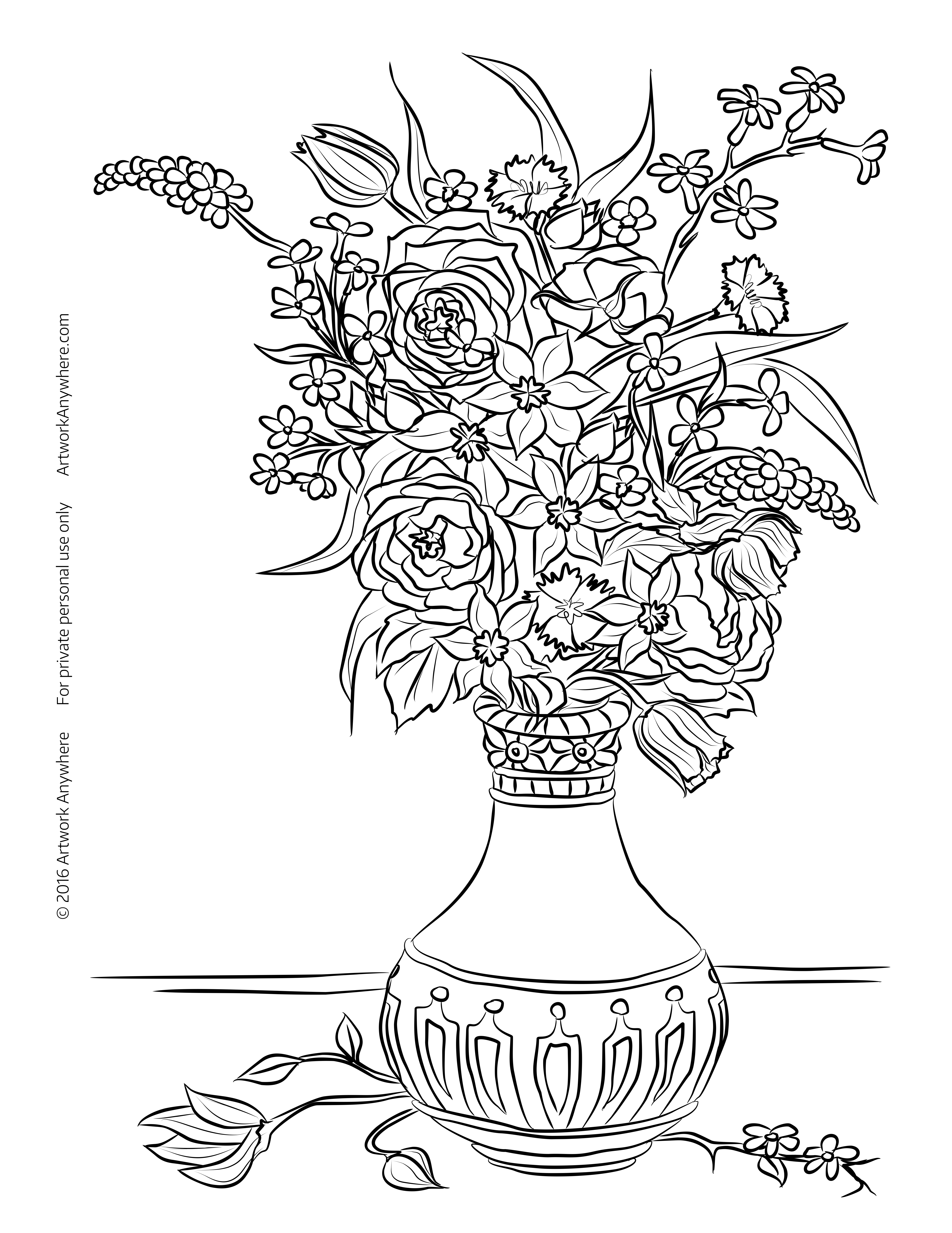Coloring pages still life coloring home for Life coloring pages