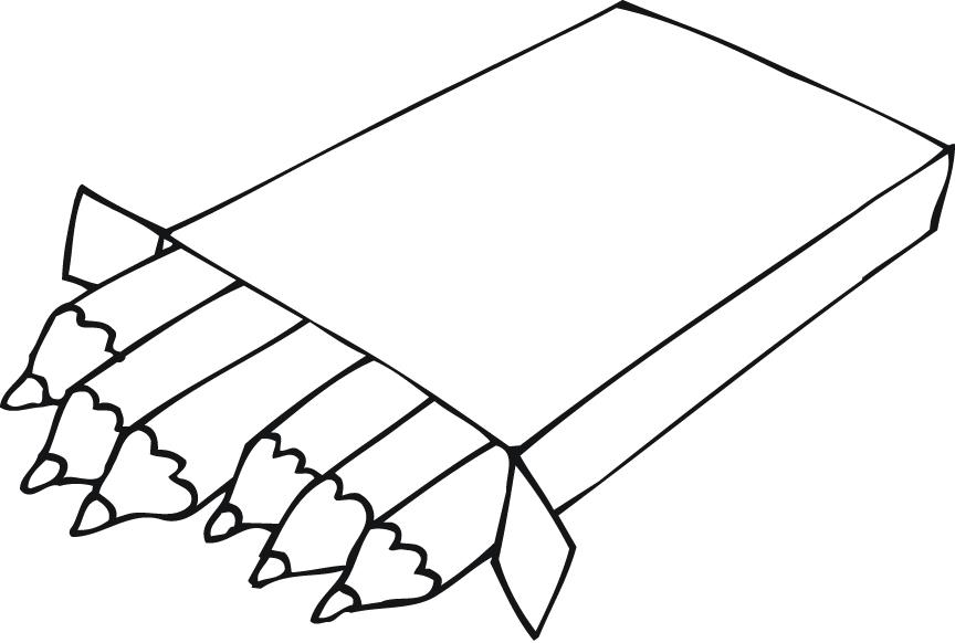 Coloring Pages Pencils