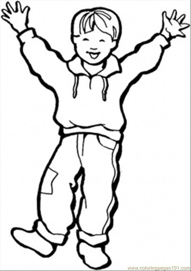 Little Boy And Girl Coloring Pages - Coloring Home