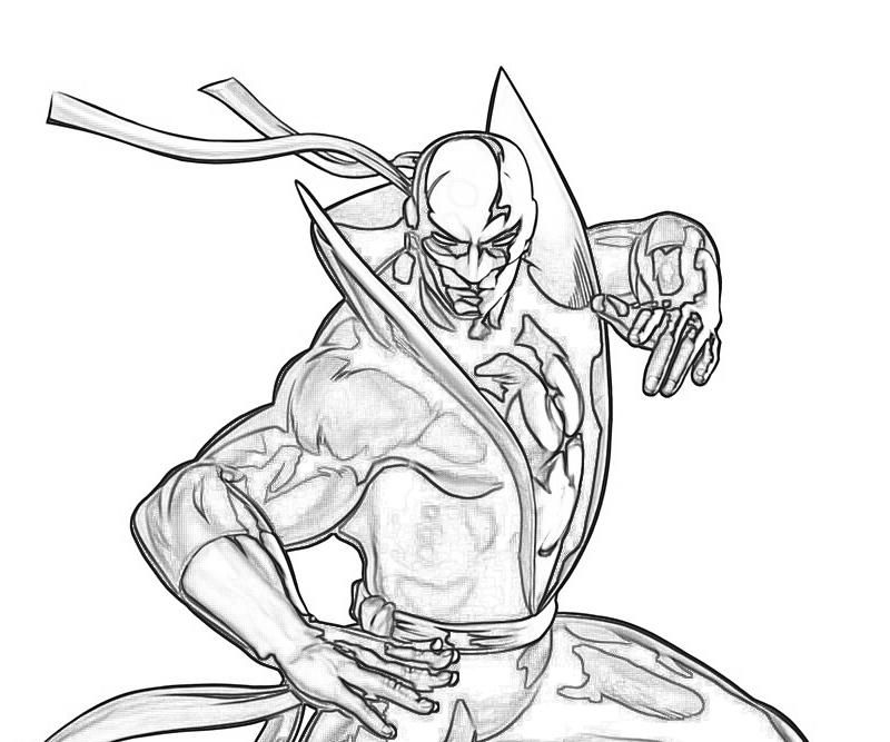 12 Pics Of Marvel Iron Fist Coloring Pages