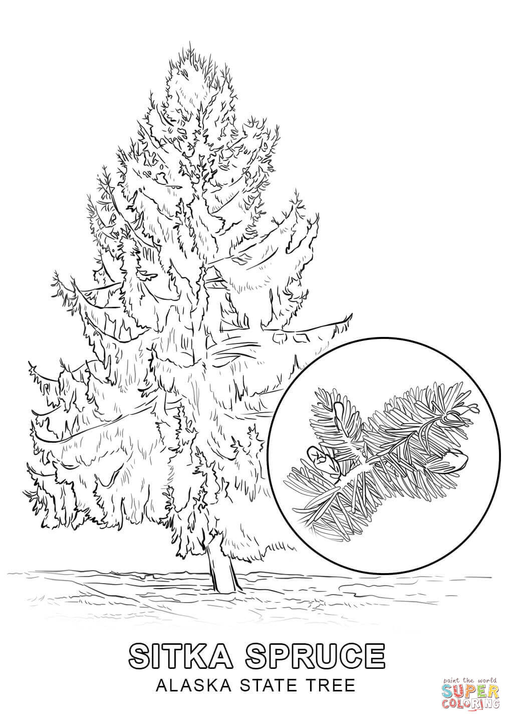 Free Alaska Coloring Pages - Coloring Home