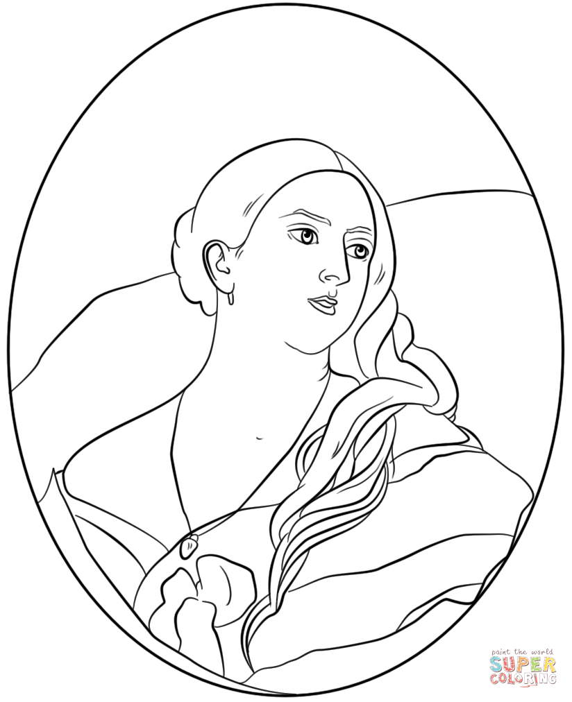 Famous Paintings Coloring Pages | Free Coloring Pages - Coloring Home