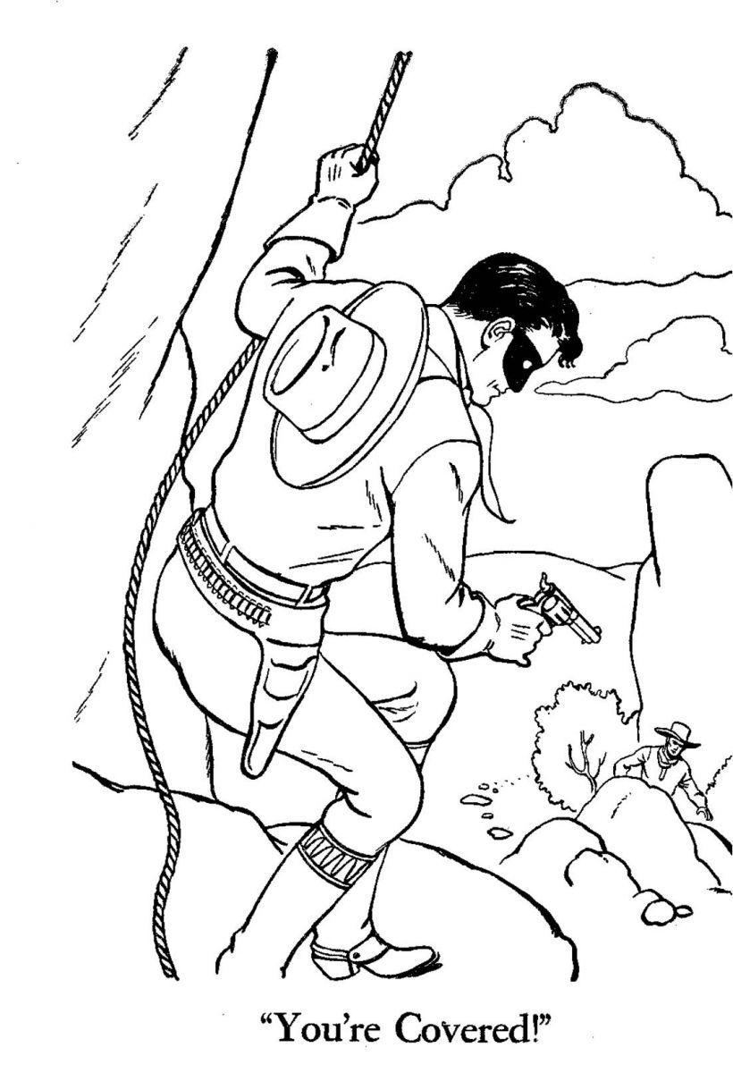 lone ranger lego coloring pages - photo#20