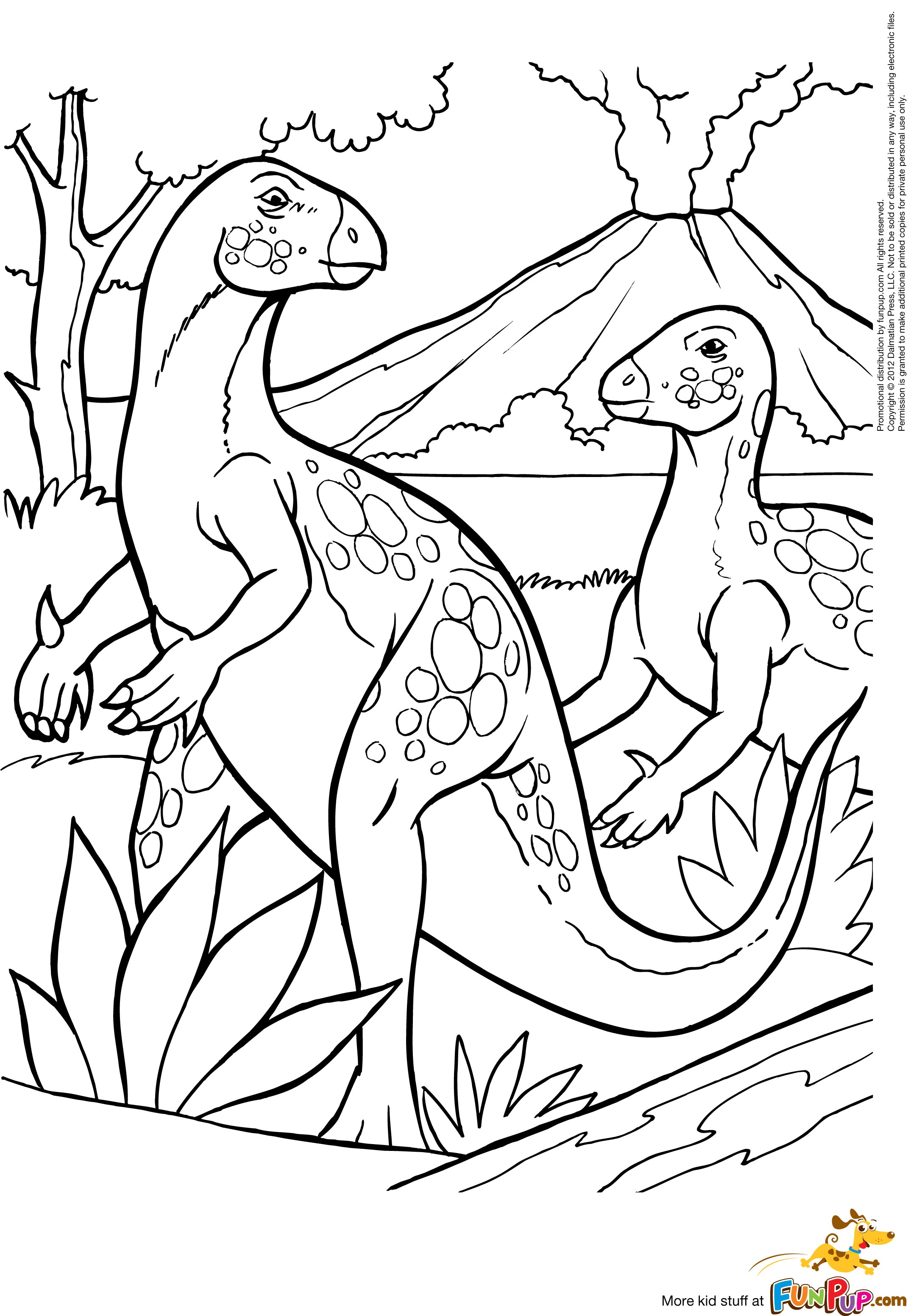 coloring pages volcano - photo #45