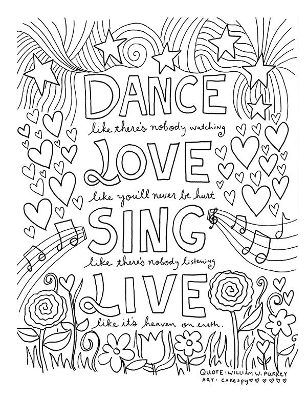 - Sayings Coloring Pages - Coloring Home