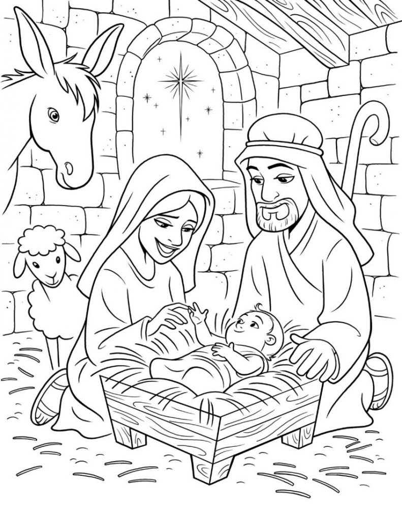 - Jesus Coloring Pages - Coloring Home