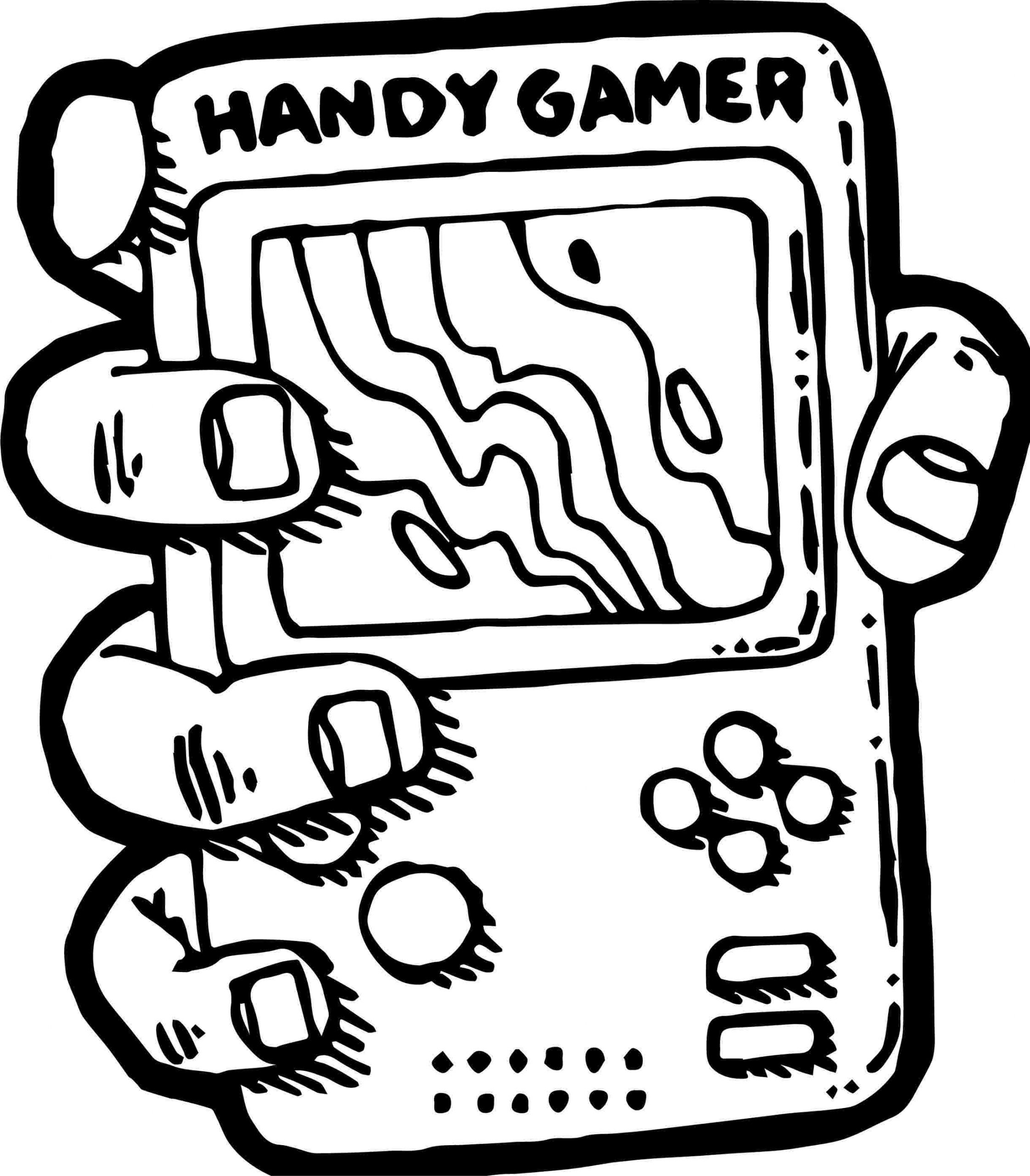 Gaming Coloring Pages Coloring Home