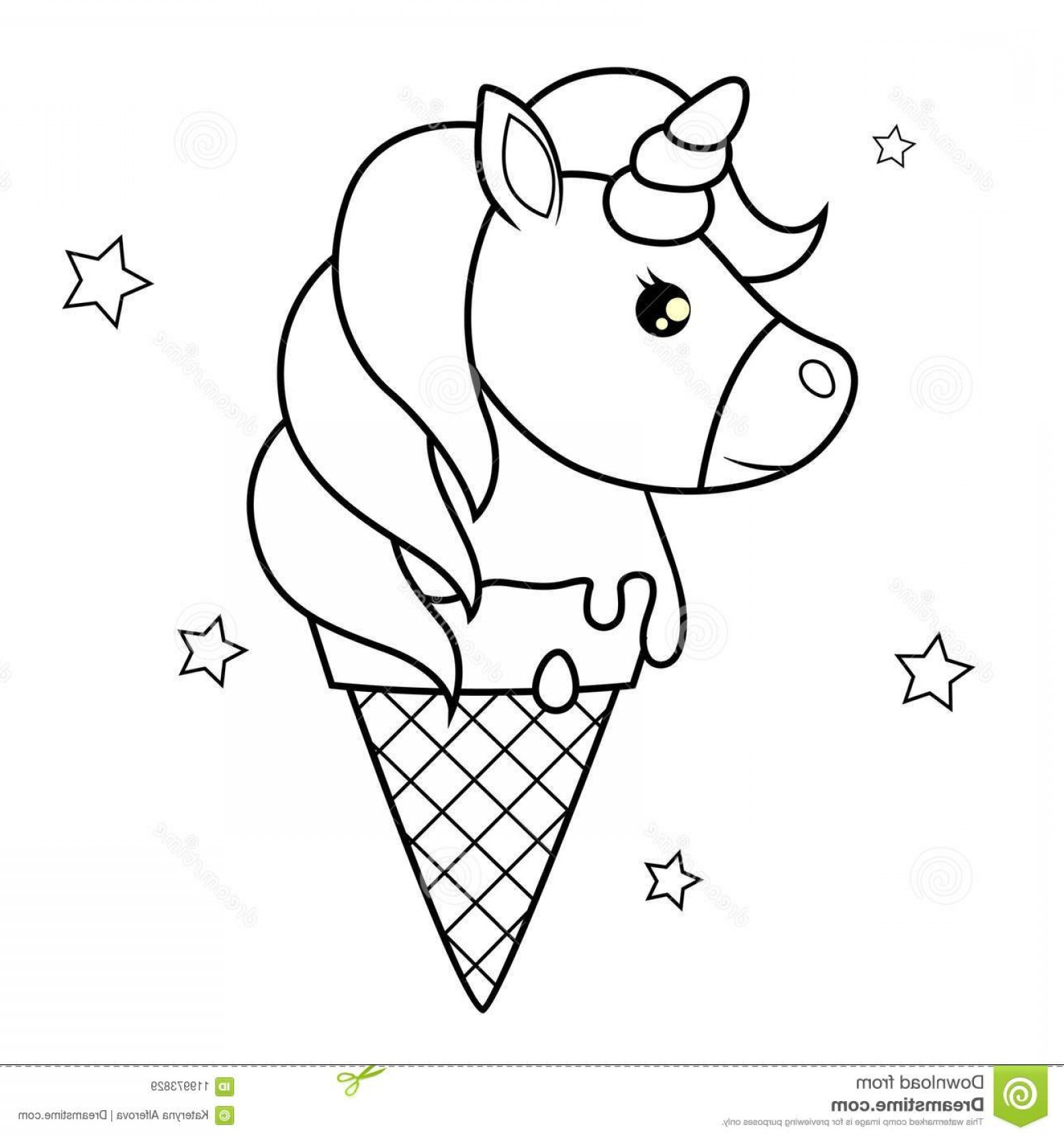Ice Creams Coloring Pages Coloring Home