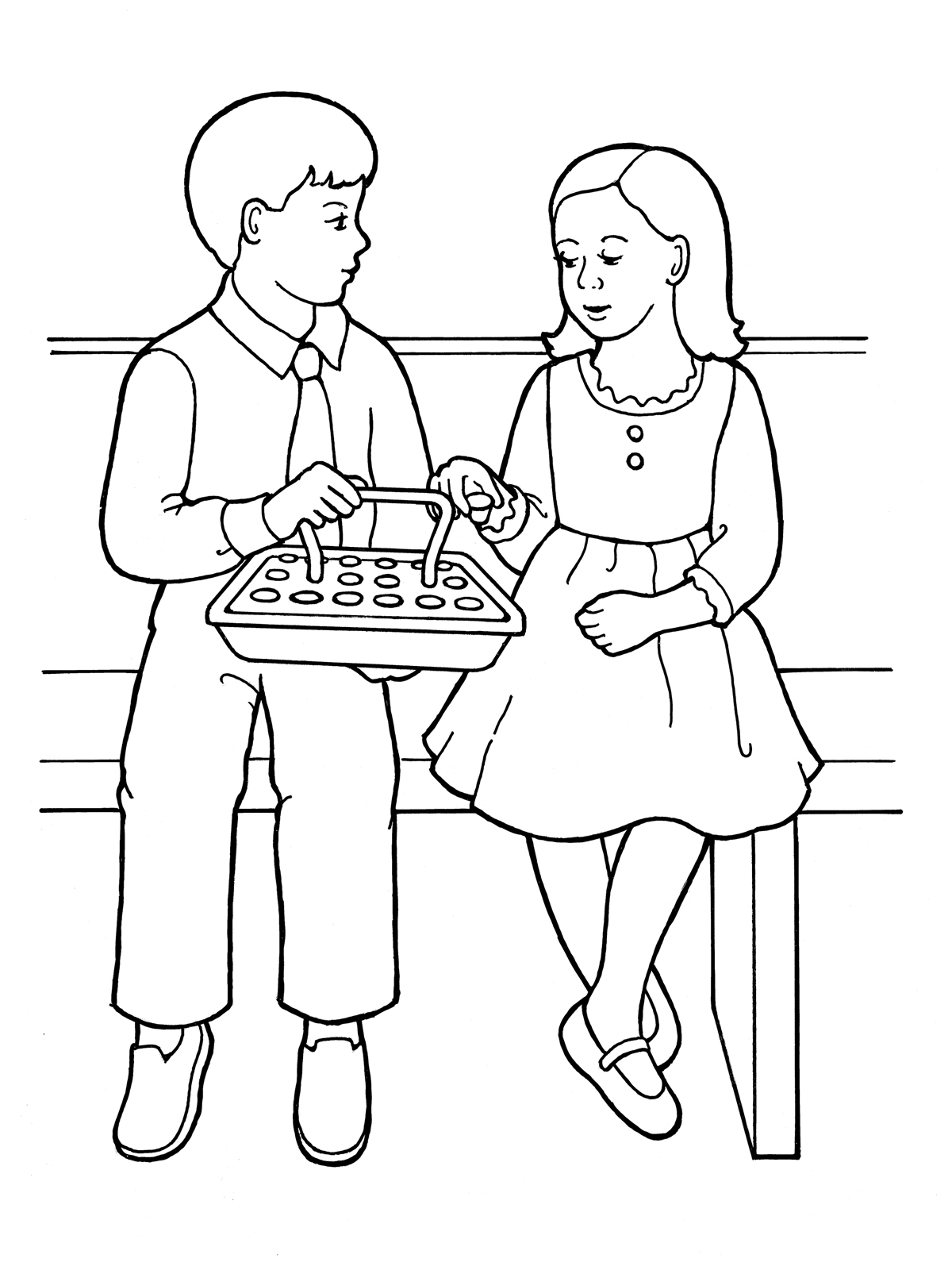 reconciliation coloring pages - Europe.tripsleep.co